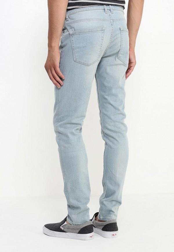 Зауженные джинсы Burton Menswear London 12S33IBLU: изображение 4