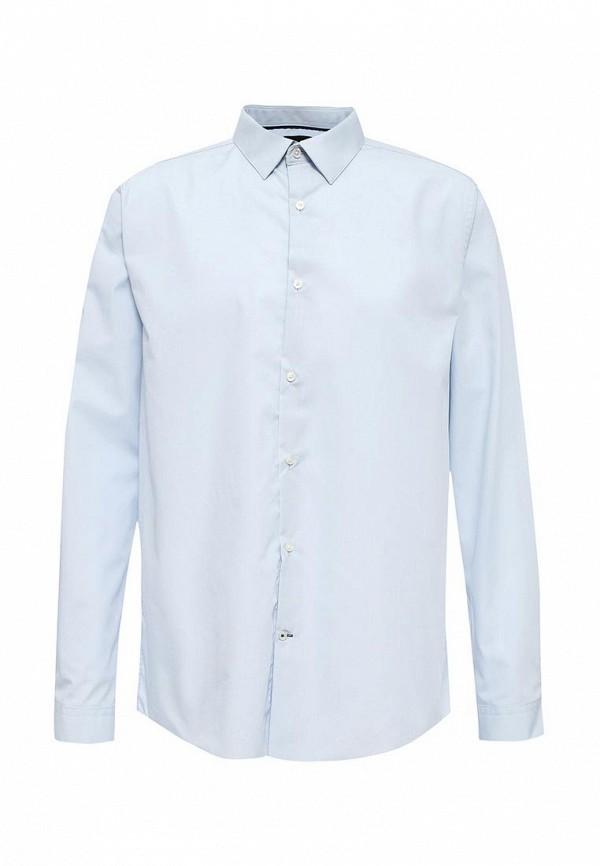 Рубашка с длинным рукавом Burton Menswear London 19B01HBLU