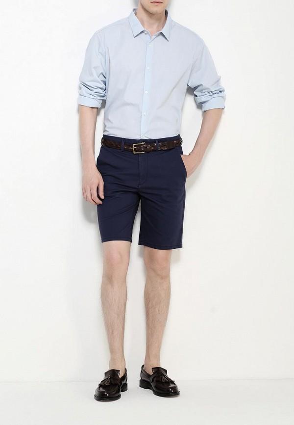 Рубашка с длинным рукавом Burton Menswear London 19B03HBLU: изображение 3