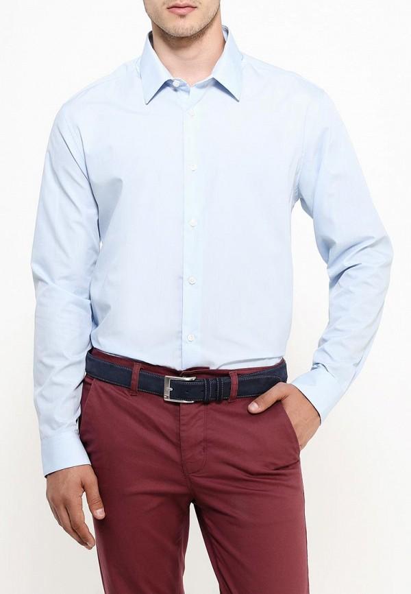 Рубашка с длинным рукавом Burton Menswear London 19B03IBLU: изображение 3
