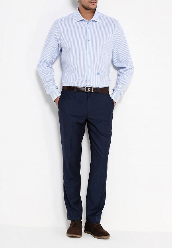 Мужские классические брюки Burton Menswear London 02S11HBLU: изображение 2