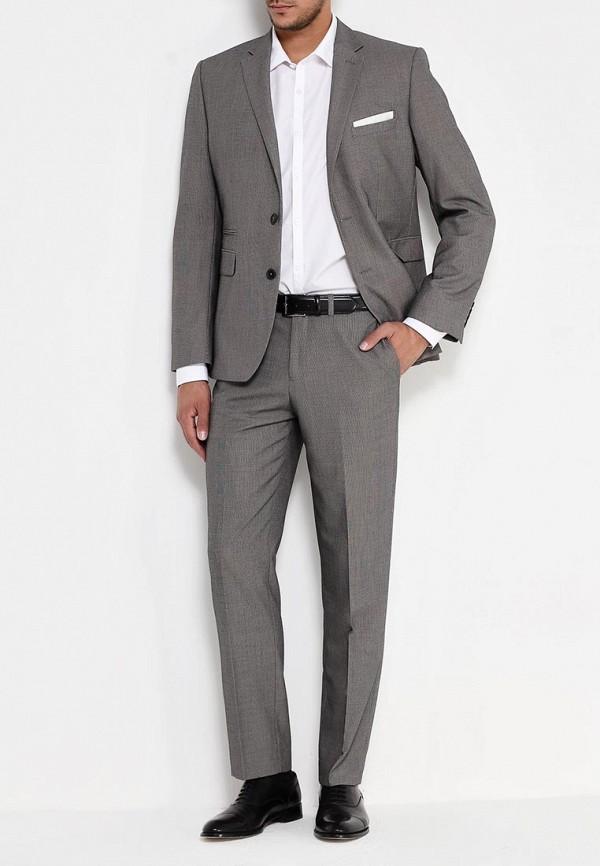 Мужские классические брюки Burton Menswear London 02T07HGRY: изображение 2