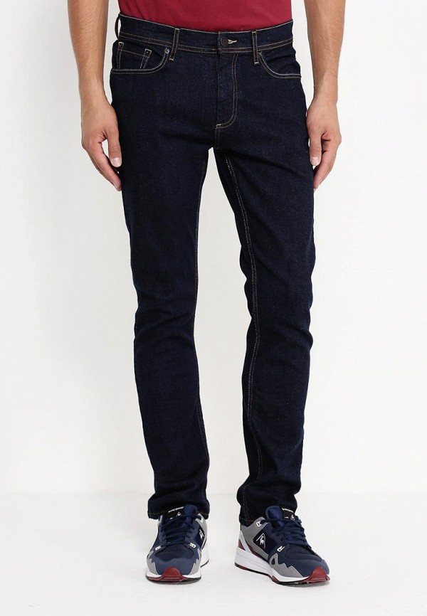 Зауженные джинсы Burton Menswear London 12A25IBLU: изображение 3