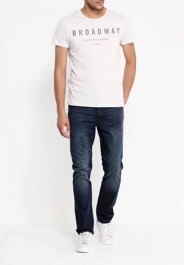 Зауженные джинсы Burton Menswear London 12S02JBLU: изображение 2
