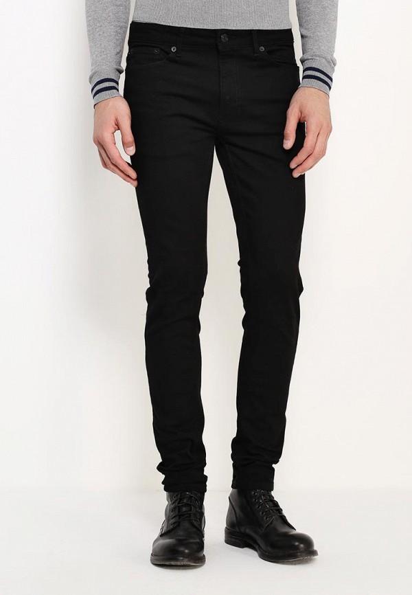 Зауженные джинсы Burton Menswear London 12S08IBLK: изображение 4