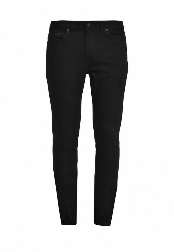 Зауженные джинсы Burton Menswear London 12S35IBLK