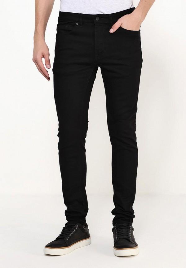 Зауженные джинсы Burton Menswear London 12S35IBLK: изображение 3