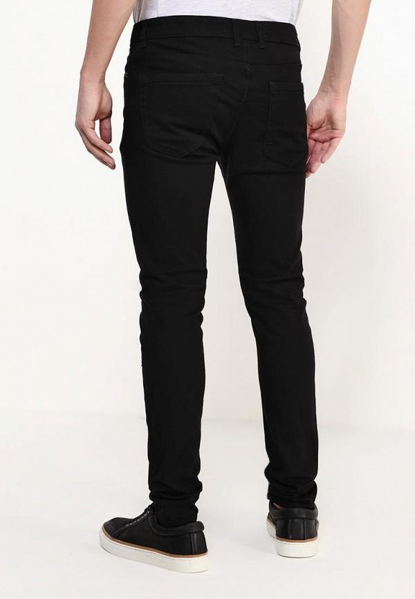 Зауженные джинсы Burton Menswear London 12S35IBLK: изображение 4