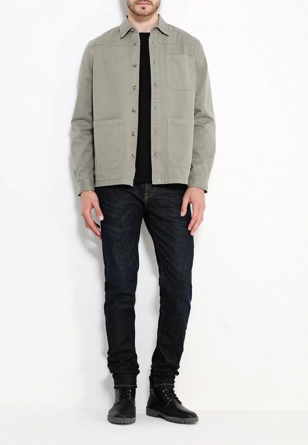 Рубашка с длинным рукавом Burton Menswear London 22H03JGRN: изображение 2