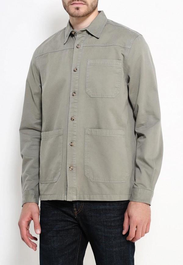 Рубашка с длинным рукавом Burton Menswear London 22H03JGRN: изображение 3