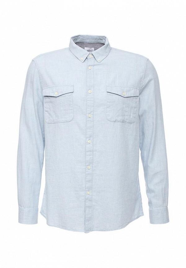 Рубашка с длинным рукавом Burton Menswear London 22L01JBLU: изображение 1