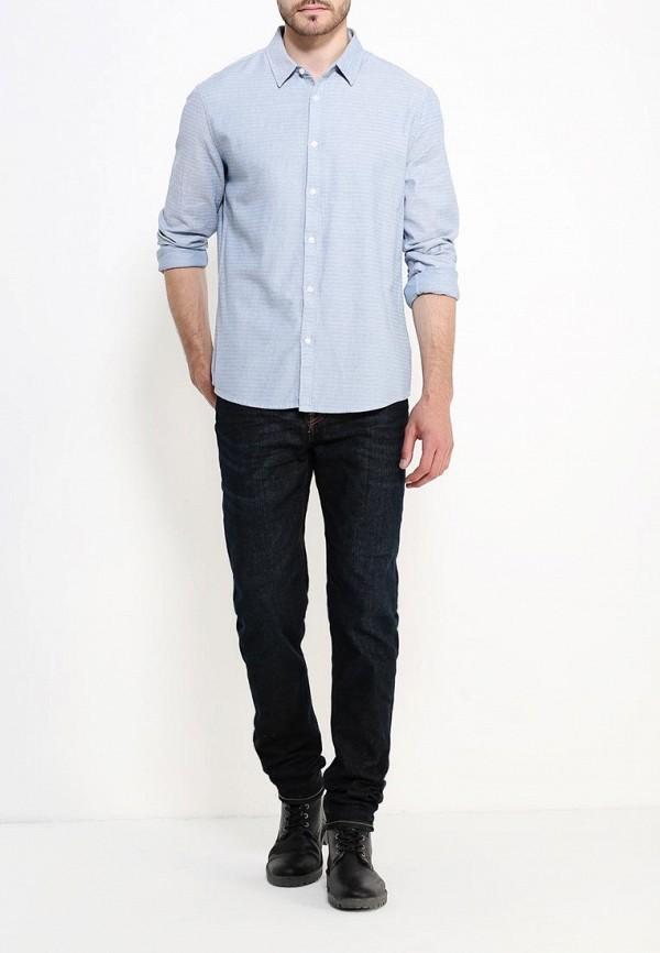 Рубашка с длинным рукавом Burton Menswear London 22T07JBLU: изображение 2