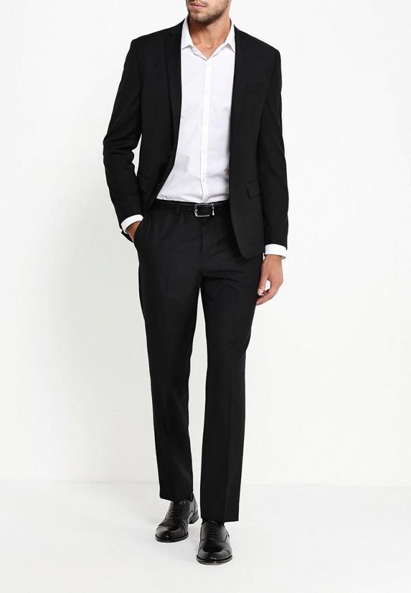 Мужские классические брюки Burton Menswear London 02S02IBLK: изображение 2