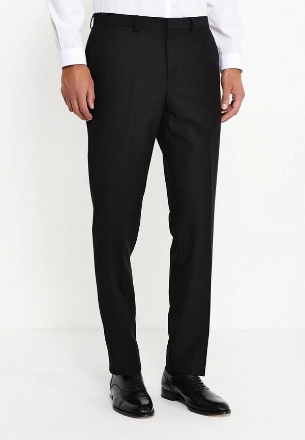 Мужские классические брюки Burton Menswear London 02S02IBLK: изображение 3