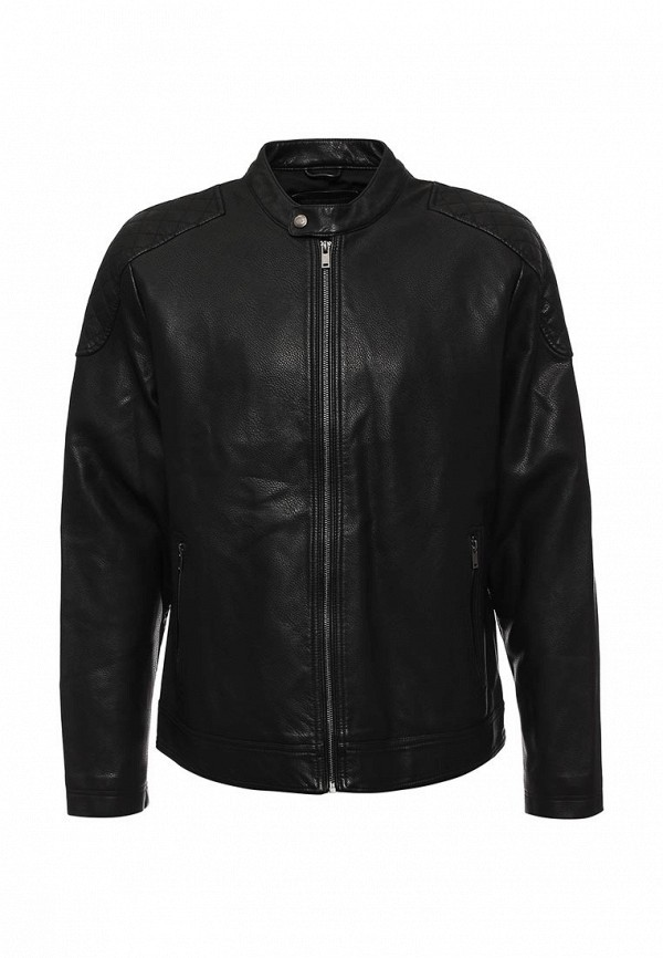 Кожаная куртка Burton Menswear London 06L01JBLK: изображение 1