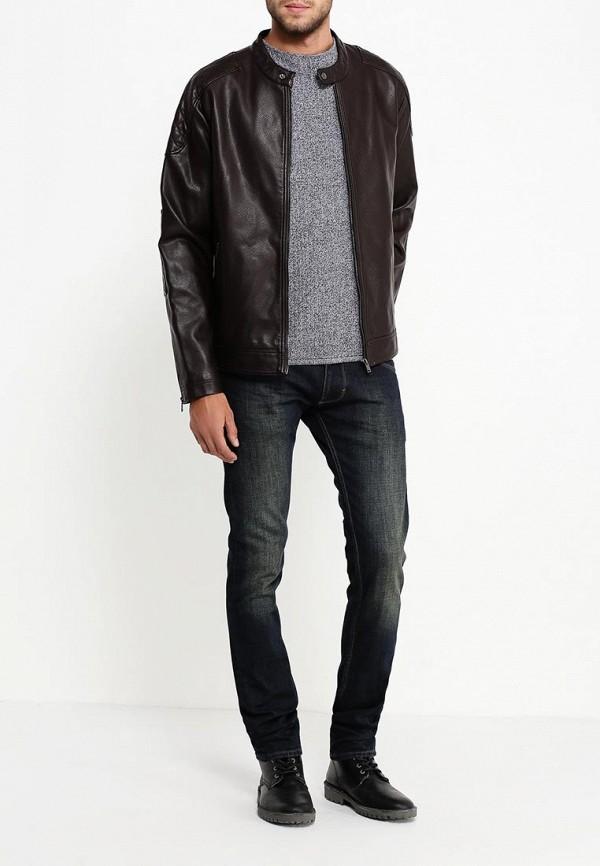 Кожаная куртка Burton Menswear London 06L01JBRN: изображение 3