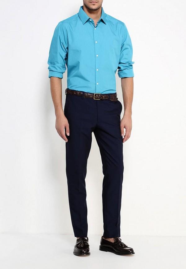 Рубашка с длинным рукавом Burton Menswear London 19B11IBLU: изображение 2