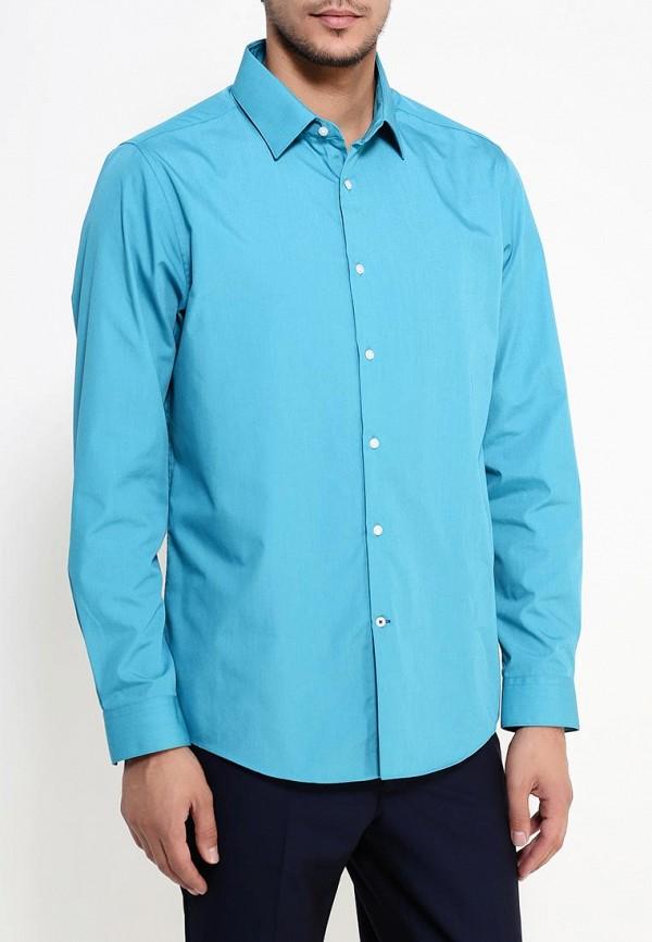 Рубашка с длинным рукавом Burton Menswear London 19B11IBLU: изображение 3