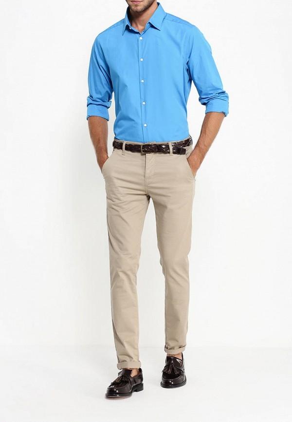 Рубашка с длинным рукавом Burton Menswear London 19B14IBLU: изображение 3