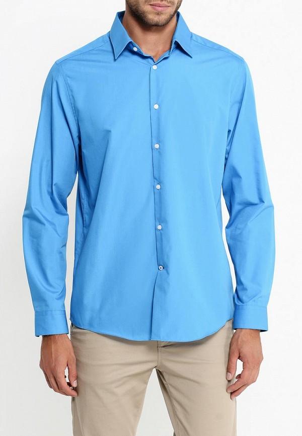 Рубашка с длинным рукавом Burton Menswear London 19B14IBLU: изображение 4