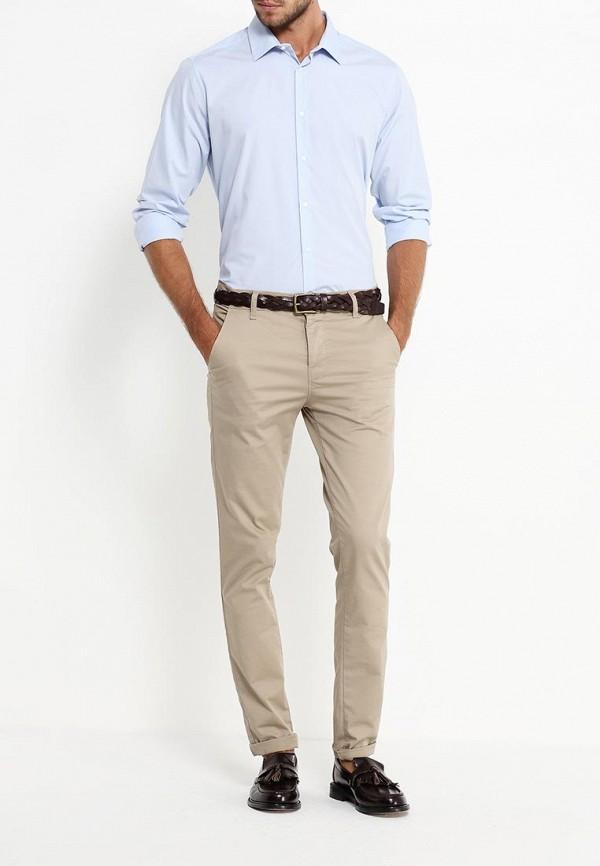 Рубашка с длинным рукавом Burton Menswear London 19E07JBLU: изображение 3