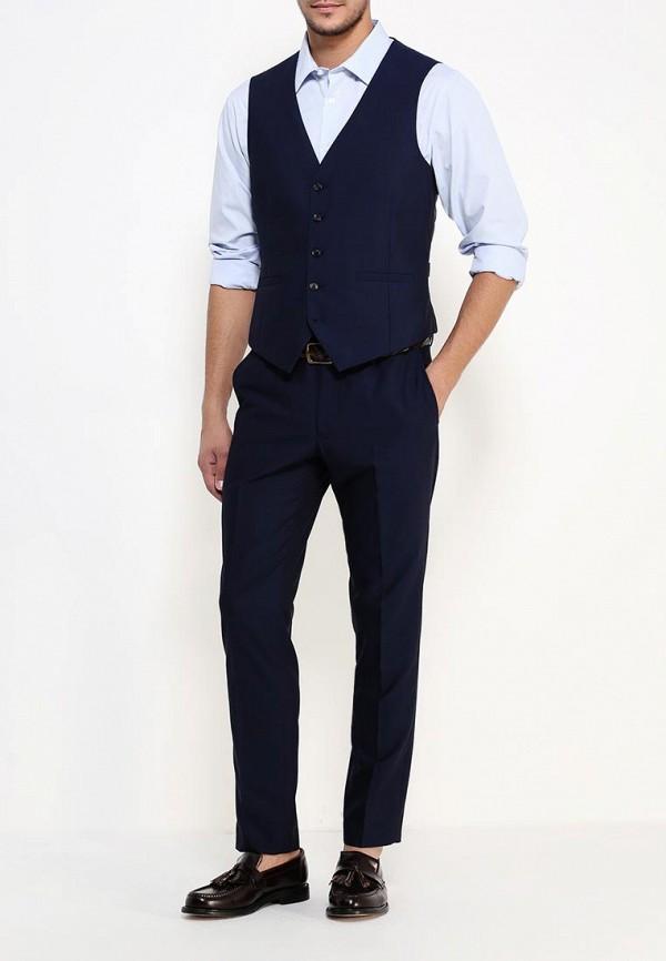 Рубашка с длинным рукавом Burton Menswear London 19E08JBLU: изображение 2