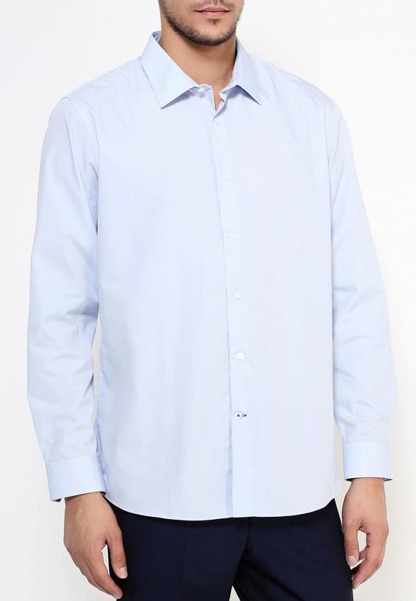 Рубашка с длинным рукавом Burton Menswear London 19E08JBLU: изображение 3