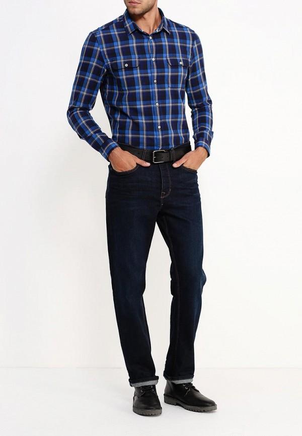 Рубашка с длинным рукавом Burton Menswear London 22C01JBLU: изображение 3