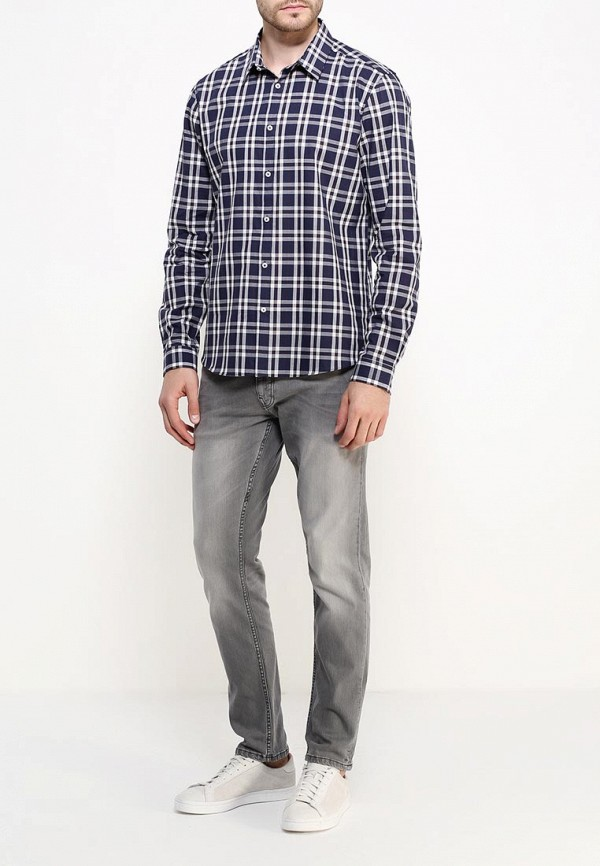 Рубашка с длинным рукавом Burton Menswear London 22C01JNVY: изображение 3