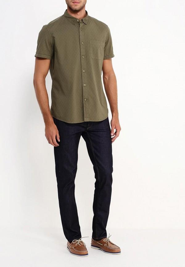 Рубашка с коротким рукавом Burton Menswear London 22P03JGRN: изображение 3