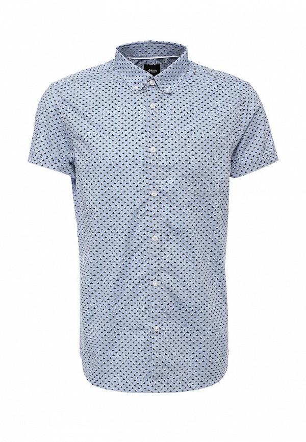 Рубашка с коротким рукавом Burton Menswear London 22P07JBLU: изображение 1