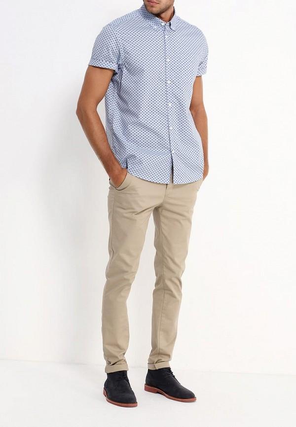Рубашка с коротким рукавом Burton Menswear London 22P07JBLU: изображение 2