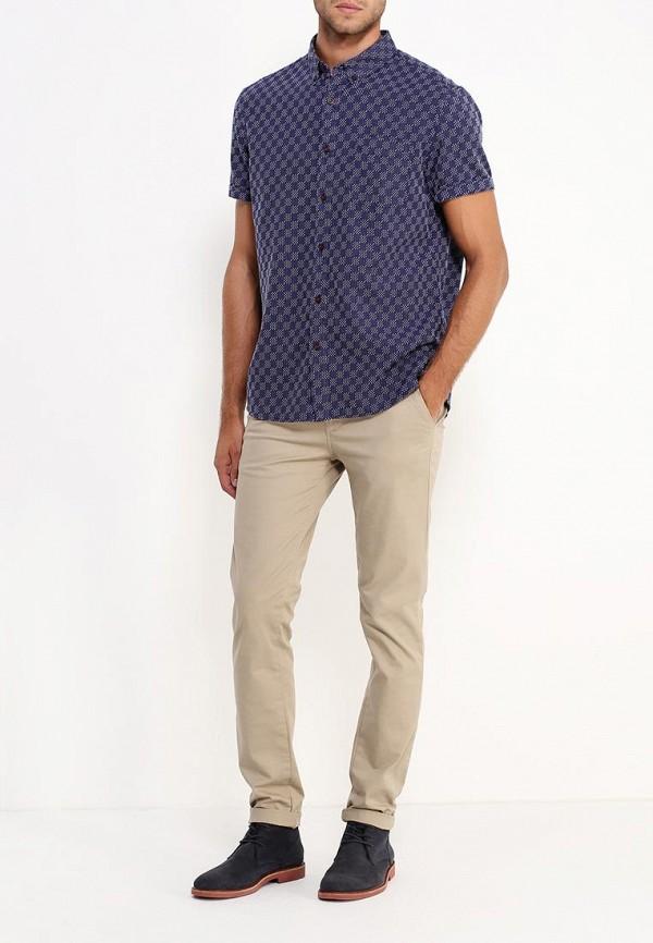 Рубашка с коротким рукавом Burton Menswear London 22T05JBLU: изображение 2