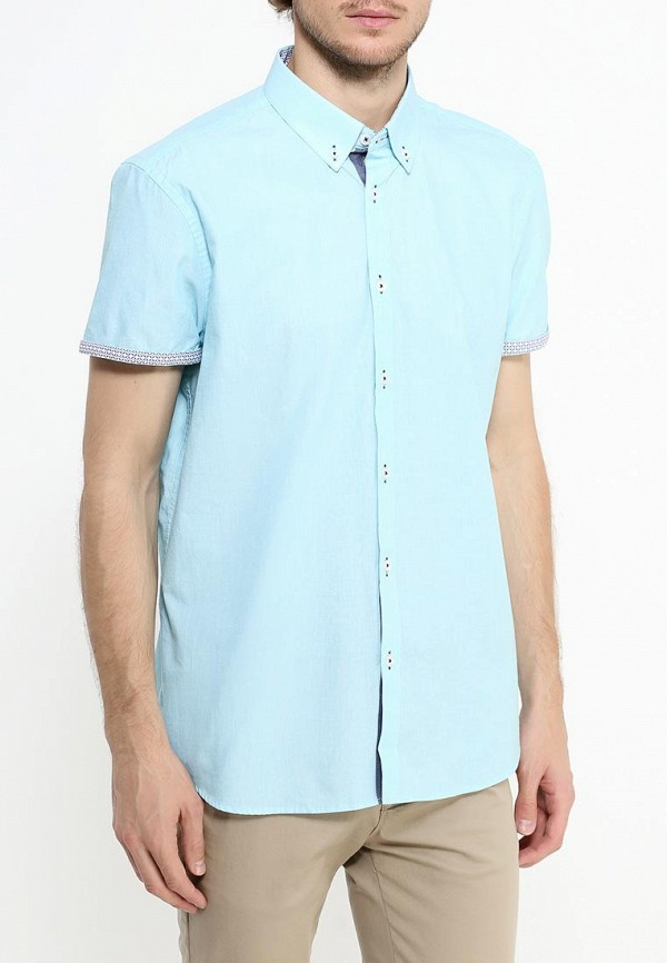 Рубашка с коротким рукавом Burton Menswear London 22D01JBLU: изображение 3