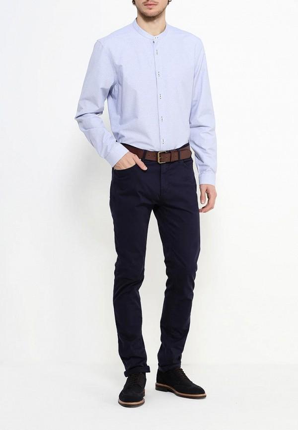 Рубашка с длинным рукавом Burton Menswear London 22D03JBLU: изображение 2