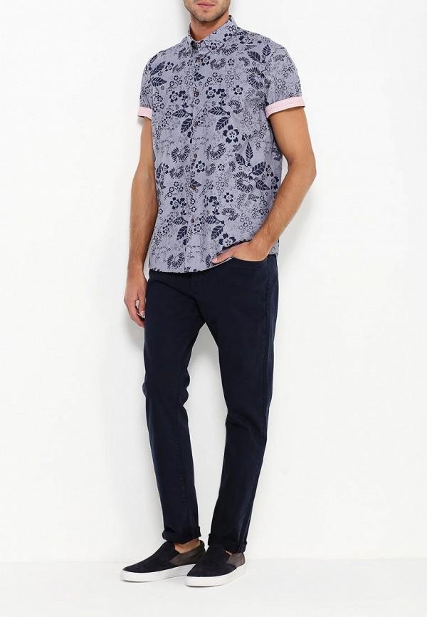 Рубашка с коротким рукавом Burton Menswear London 22P05JBLU: изображение 2