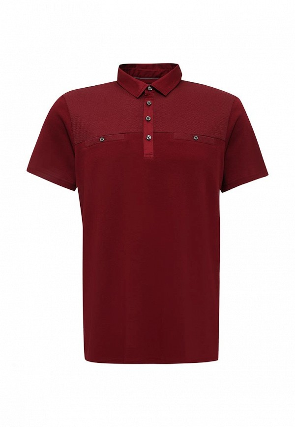 Мужские поло Burton Menswear London 45J01IRED: изображение 1