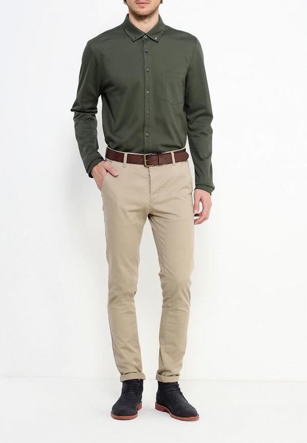 Рубашка с длинным рукавом Burton Menswear London 45J05IGRN: изображение 2