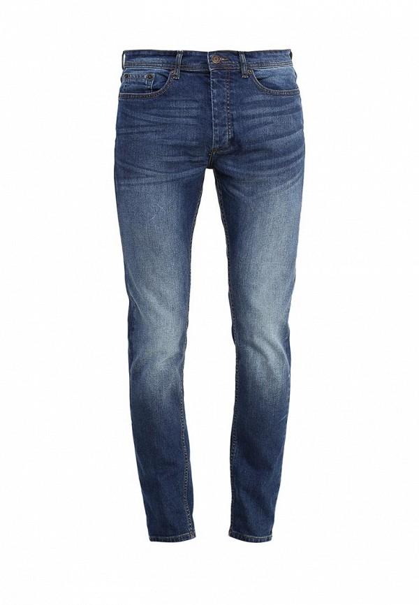 Зауженные джинсы Burton Menswear London 12S44JBLU