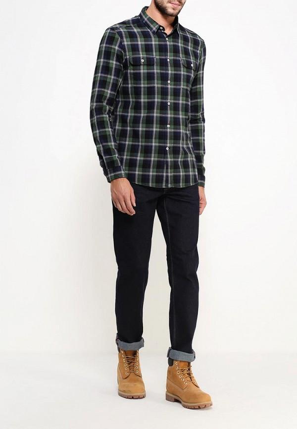 Рубашка с длинным рукавом Burton Menswear London 22C02JGRN: изображение 2