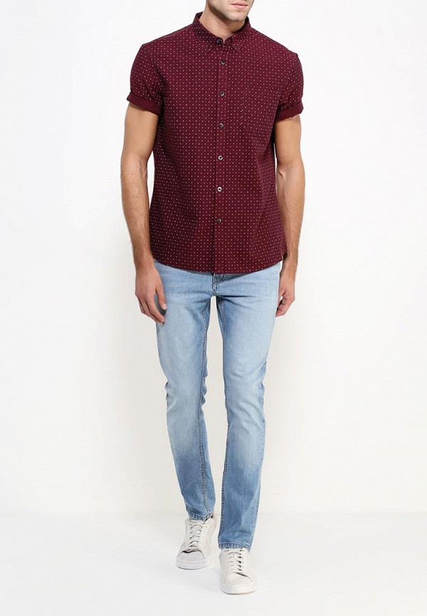 Рубашка с коротким рукавом Burton Menswear London 22D07JRED: изображение 3