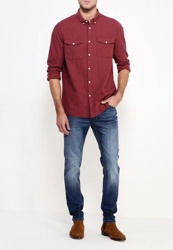 Рубашка с длинным рукавом Burton Menswear London 22T01JRED: изображение 3