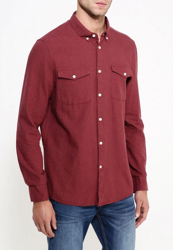 Рубашка с длинным рукавом Burton Menswear London 22T01JRED: изображение 4