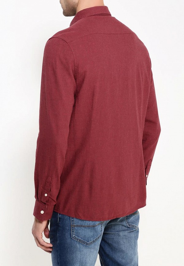 Рубашка с длинным рукавом Burton Menswear London 22T01JRED: изображение 5