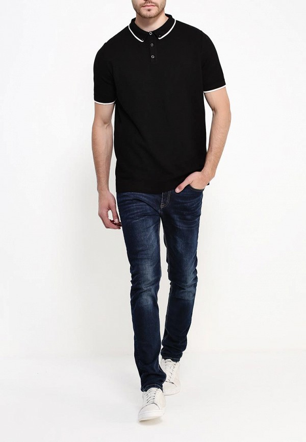 Мужские поло Burton Menswear London 27T16JBLK: изображение 2