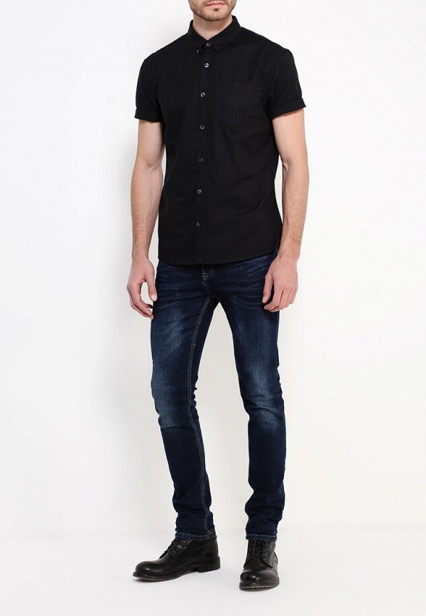 Рубашка с коротким рукавом Burton Menswear London 22O02JBLK: изображение 2