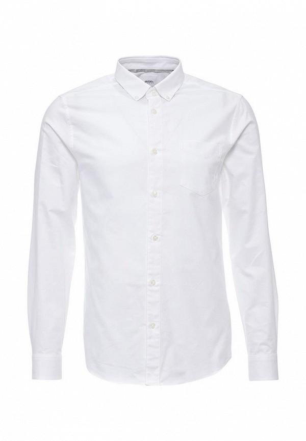Рубашка с длинным рукавом Burton Menswear London 22P04JWHT: изображение 1