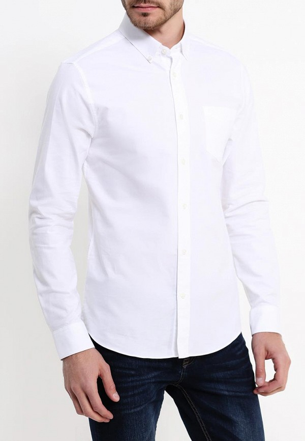 Рубашка с длинным рукавом Burton Menswear London 22P04JWHT: изображение 3