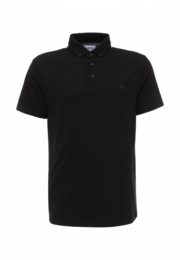 Мужские поло Burton Menswear London 45J05HBLK: изображение 1
