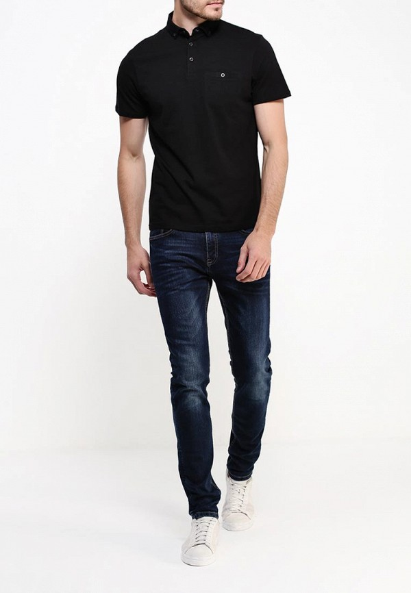 Мужские поло Burton Menswear London 45J06HBLK: изображение 2